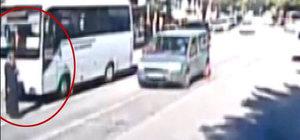 Afyon'da dikkatsiz otobüs şoförü durakta indirdiği yolcusunu ezdi