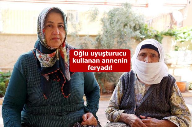 Antalya'da bir kadın, oğluna uyuşturucu almak için ev eşyaları sattı