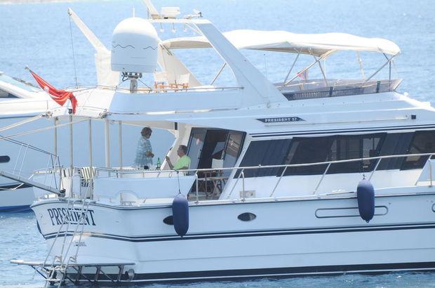 Balıkesir'de Tansu Çiller'in 5 yıl önce kullandığı yatta 134 göçmen yakalandı