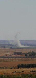 'Fırat Kalkanı'nda, IŞİD hedefleri ateş altına alındı