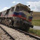 Van'da yük trenine bombalı saldırı: 1 yaralı