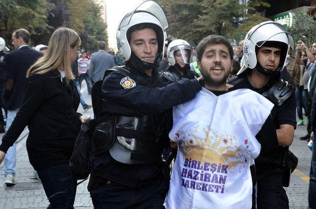 Eskişehir'de protesto yapan 25 kişiye gözaltı