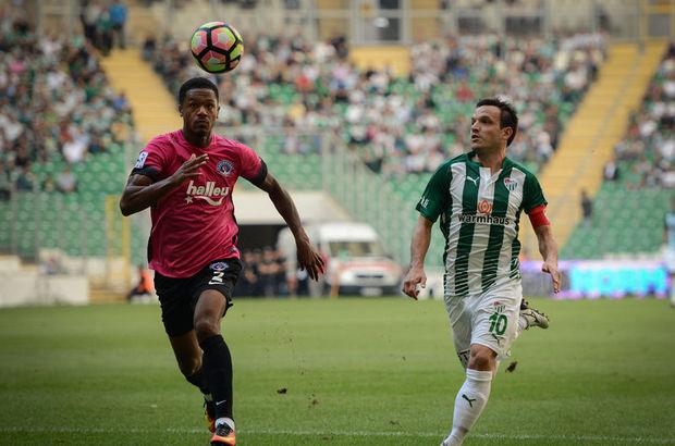 Bursaspor: 1 - Kasımpaşa: 0 maç özeti