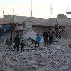 Halep'te rejim ve Rus hava saldırılarında 66 kişi öldü