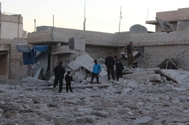 Halep'te bombardıman: 66 ölü!