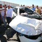 Şanlıurfa'da BM ekibi kaza yaptı: 5 yaralı