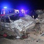 Şanlıurfa'da zincirleme trafik kazası: 12 yaralı