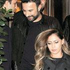 Tarkan ve Pınar Dilek yemeğe çıktı