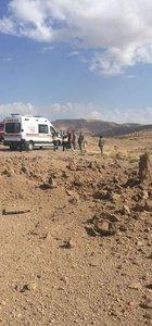 Derik'te askeri aracın geçişi sırasında yola tuzaklanan EYP infilak ettirildi