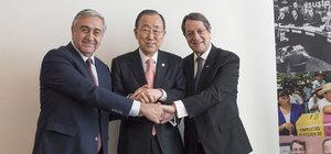 Kıbrıs görüşmelerinde 'tokalaşma' sorunu