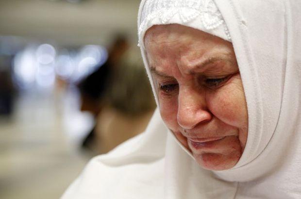 Meryem Şarkiye dayısıyla 63 yıl sonra hacda tanıştı