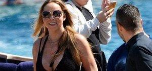 Mariah Carey Bodrum'a geldi