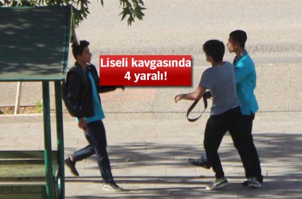Gaziantep'te liseli kavgası: 4 yaralı