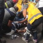 Kocaeli'de feci kaza: Ayağı parçalandı!