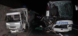Samsun'da trafik kazası: 1 ölü, 39 yaralı