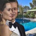 İşte Angelina Jolie'nin çocuklarıyla birlikte kaldığı ev