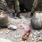 Şemdinli'de füze lançeri, füze ve doçka namlusunun ele geçirildi