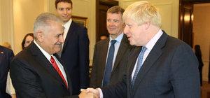 İngiltere Dışişleri Bakanı Johnson Anıtkabir'i ziyaret etti