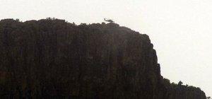 Hakkari Derecik'te helikopter hareketliliği