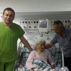 Mersin'de 107 yaşındaki kadına anjiyo yapıldı