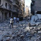 """Halep'te yerleşim alanına """"vakum bombalı"""" saldırı"""