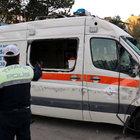 Erzurum'da hastaneye giden ambulans kaza yaptı!