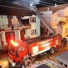 Düzce'de ev yangını: 2 yaralı