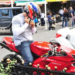 Motosikletle Bebek turu