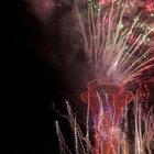 EXPO 2016 Antalya Kulesi'nde havai fişek gösterisi yapıldı