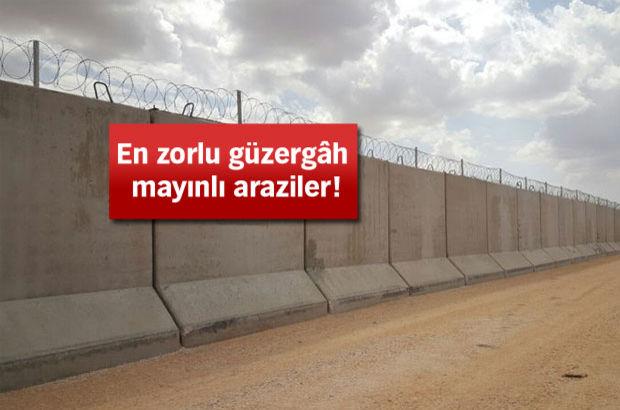 Beton blokla sınır uzunluğunda dünya üçüncüsü olacağız