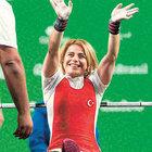 Engelli sporcu Nazmiye Muslu Muratlı Habertürk'e konuştu