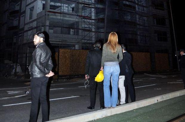 Gaziantep'te inşattan atlamak istedi, psikolog ikna etti