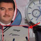 10 milyon dolar bağış yapana FETÖ imzalı saat