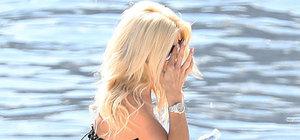 Victoria Silvstedt Monaco'da tatil yapıyor