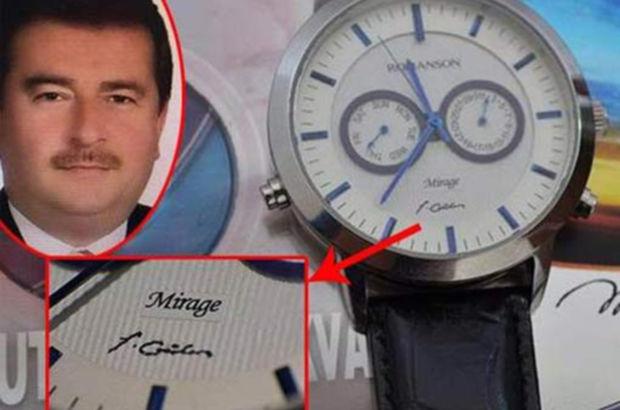 10 milyon dolar bağış yapana FETÖ imzalı saat hediye edilmiş
