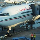 Fas yolcu uçağını su bastı