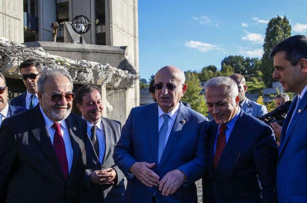 TBMM Başkanı'ndan meclis camiisi ve Atatürk tablosu açıklaması