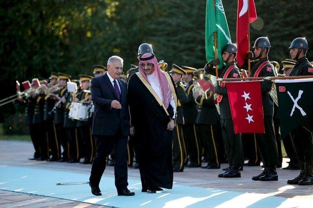 Cumhurbaşkanlığı Tören Birliği ilk kez görev aldı