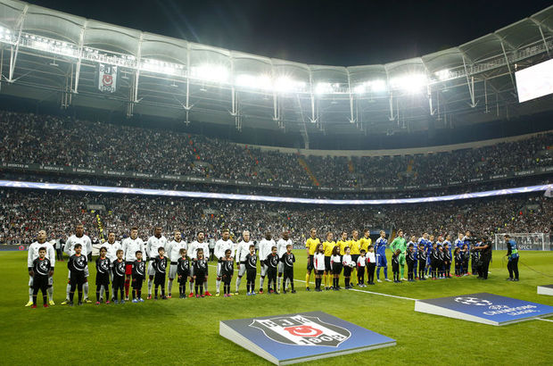 Vodafone Arena Beşiktaş Dinamo Kiev