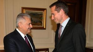 Başbakan Yıldırım, Danimarka Dışişleri Bakanını kabul etti