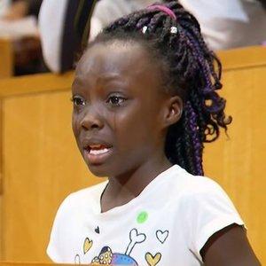 9 yaşındaki siyahi kız ABD'ye 'ırkçılık dersi' verdi