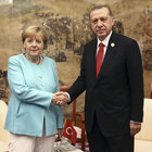 Erdogan, Merkel discuss Syria