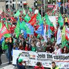 "Belçika'da sendikalardan ""kemer sıkma"" protestosu"