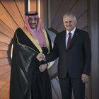 Başbakan Yıldırım, Suudi Arabistan veliaht prensiyle görüştü