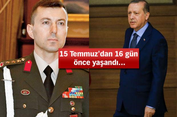 Erdoğan, darbeci yaverini 'Çakı' ile sınamış!