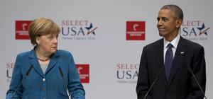 Obama ve Merkel, Rusya ile Esed rejimini kınadı