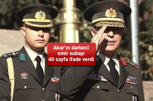 Levent Türkkan: 15 Temmuz'u 94 mezunu kurmay subaylar yaptı, Akın Öztürk kukla