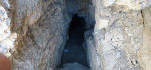 PKK'lı teröristlerin kaldığı mağaradan çıkanlar şaşırttı