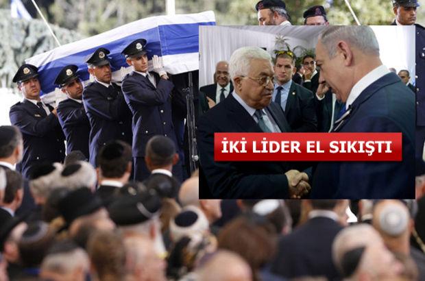 Peres için cenaze töreni düzenleniyor