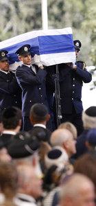 İsrail eski Cumhurbaşkanı Peres için cenaze töreni düzenlendi